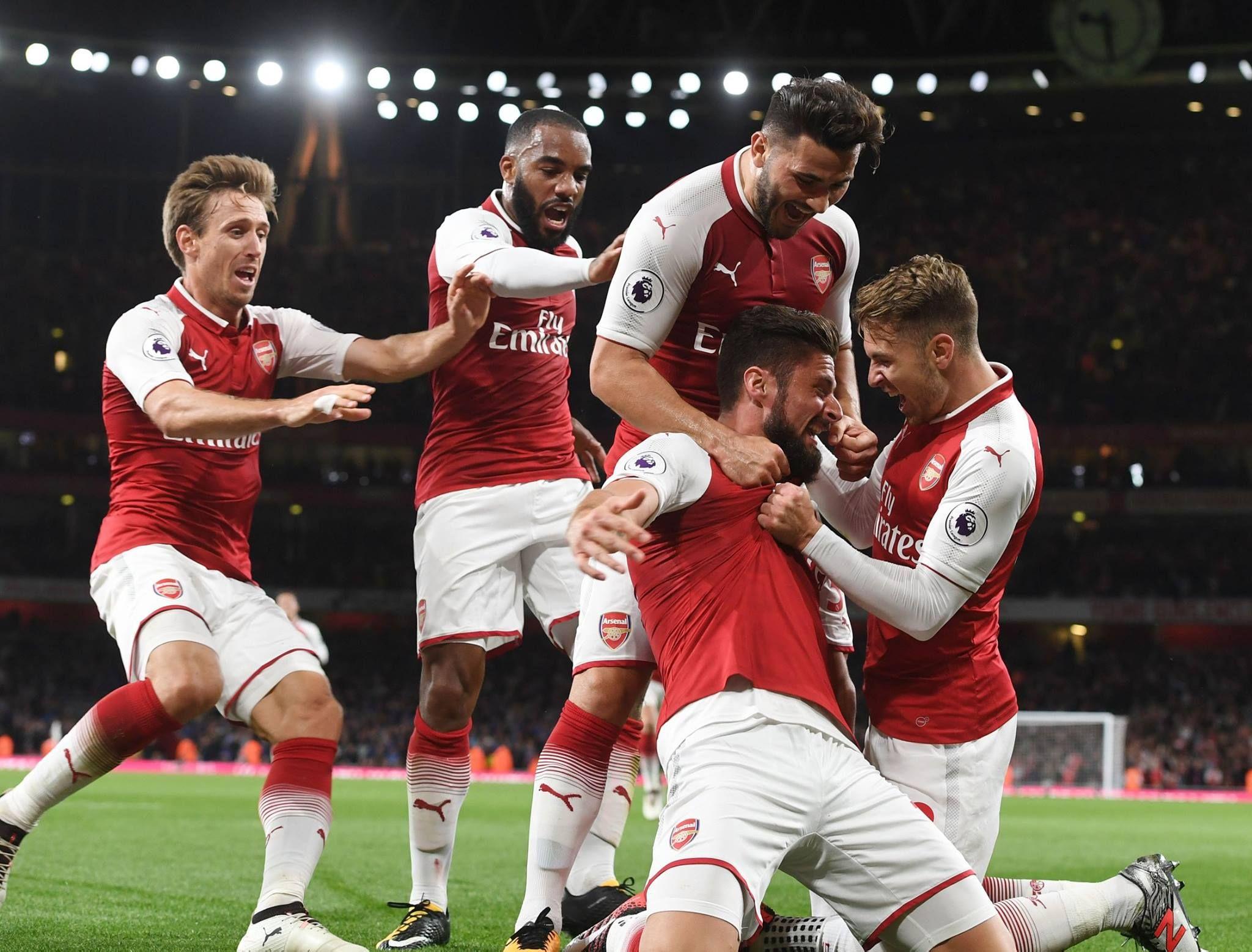 Tottenham Vs Leicester Ao Vivo: Arsenal 4-3 Leicester City (August 2017)