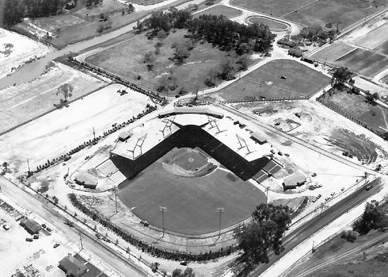 Old Westgate Park - went to my first live baseball game ...