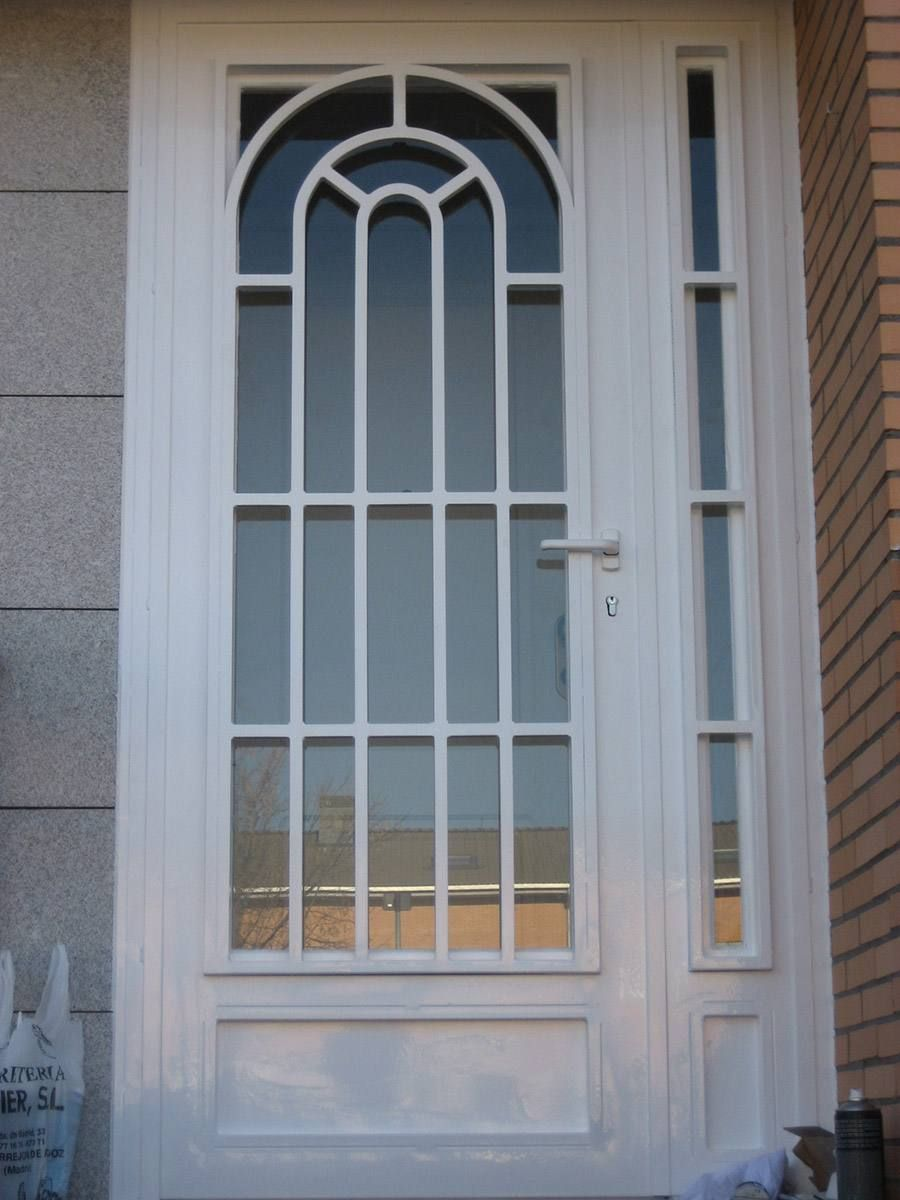 Puertas Modelo Ingles con cristal | Impresionantemexlux | Pinterest ...