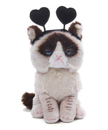 6add17501c5 Love this GUND Grumpy Cat Headband Plush Doll on  zulily!  zulilyfinds