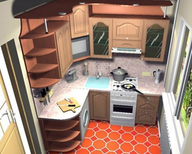 кухня 5 метров фото дизайн