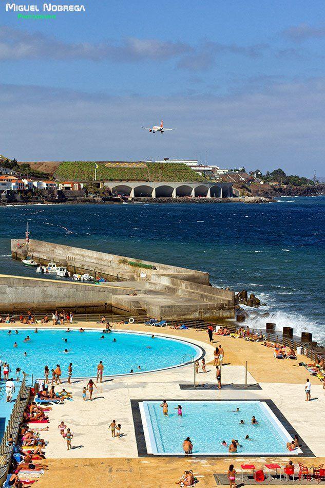 Santa Cruz Beach Madeira Island Portugal Madeira Islanda My