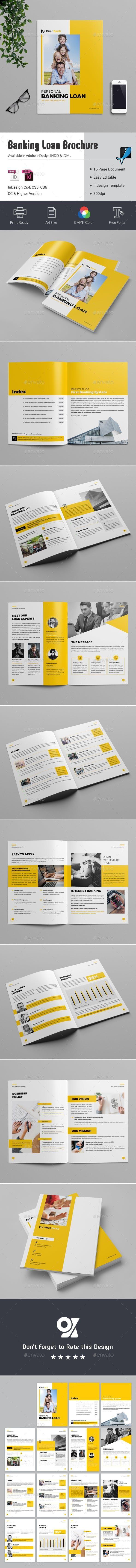 Personal Loan Banking Brochure Brochure Personal Loans Brochure Template