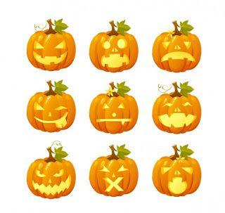 Dibujos calabazas halloween para imprimir calendario linch