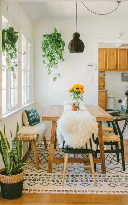 new farmhouse kitchen table with bench light fixtures 56 ideas kitchen farmhouse bohemian on boho chic dining room kitchen dining tables id=20091