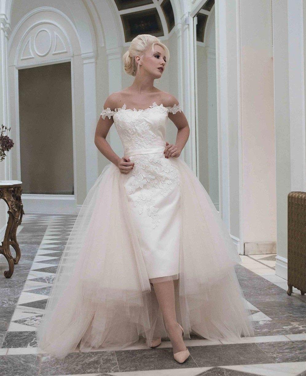 Robe modulable 2 en 1 | Tea length wedding