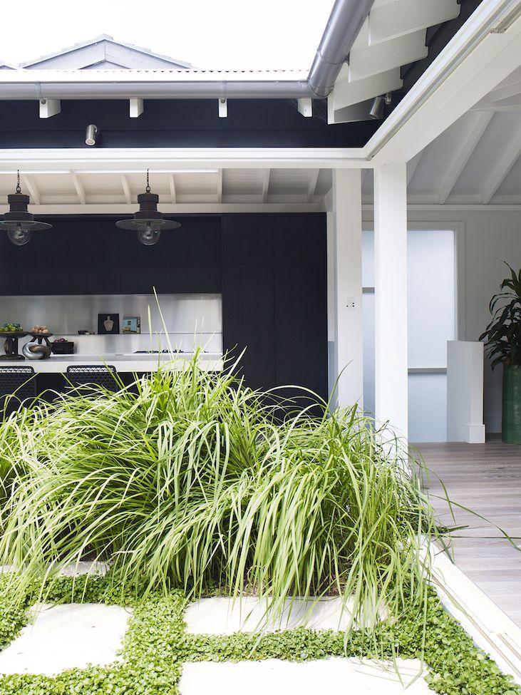 Exterior Paint Colors, Paint Colours, Exterior Design, Tile Bathrooms,  Outdoor Entertaining, Backyard Studio, Tile Flooring, Room Lights, Byron Bay
