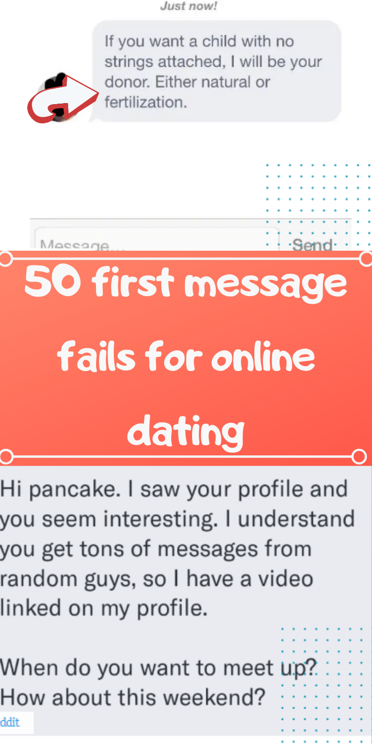 This Slideshow Contains 50 Of The Cringiest Strangest And Desperatest Opening Attempts At Courtship Ever Seen Via The Medium Of O