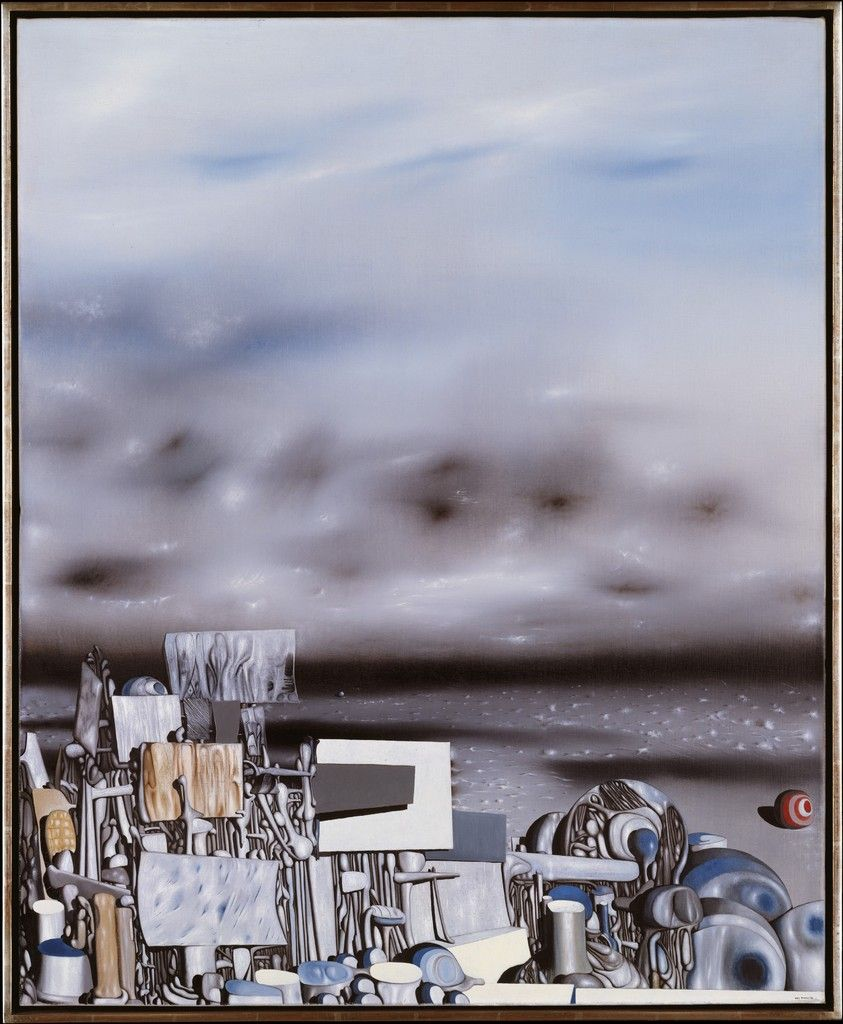 Yves Tanguy 1954 The Mirage of Time Surréalisme