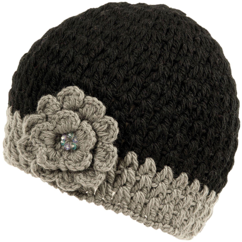 Crocheted Flower Hat By Nirvanna Designs Crochet Ear