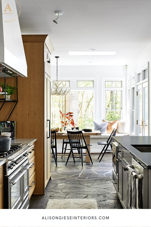 stone floor kitchen alison giese interiors in 2020