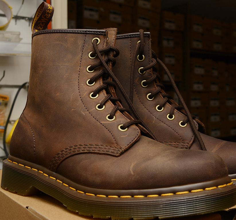 931ab4ae4f7 ... sale cheap doc martin shoes. Dr Martens 1460 Crazy Horse Brown 8 eyelet  boot