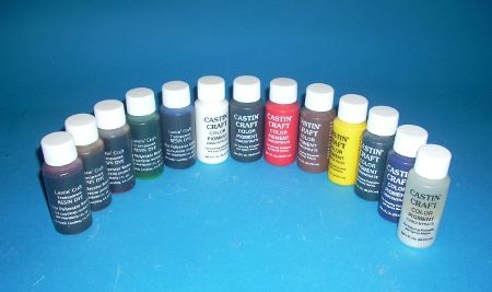 Used to color resins. Works with casting resin, fiberglass ...
