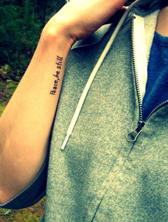 Peace Word Tattoo : peace, tattoo, Tattoo,, Peace,, Still., #rydervilleink, #simple, #tattoos, #peace, Www.beccaellis.wordpress.com, Still, Tattoos,, Tattoos