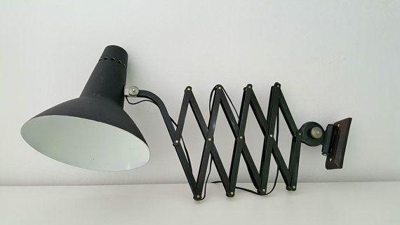 Lámpara flexo acordeón / accordion lamp by REINVENTARvintage
