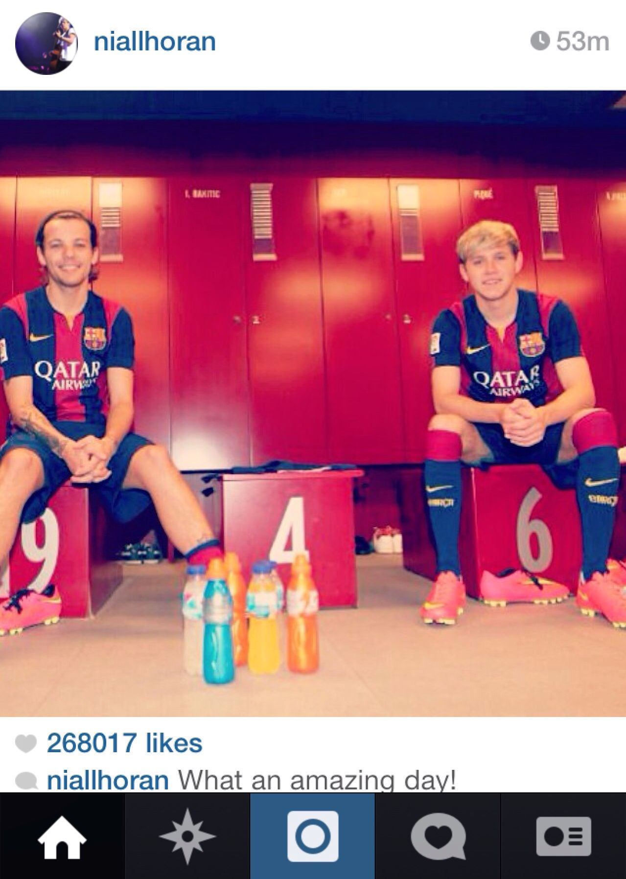 Niall posted this on IG