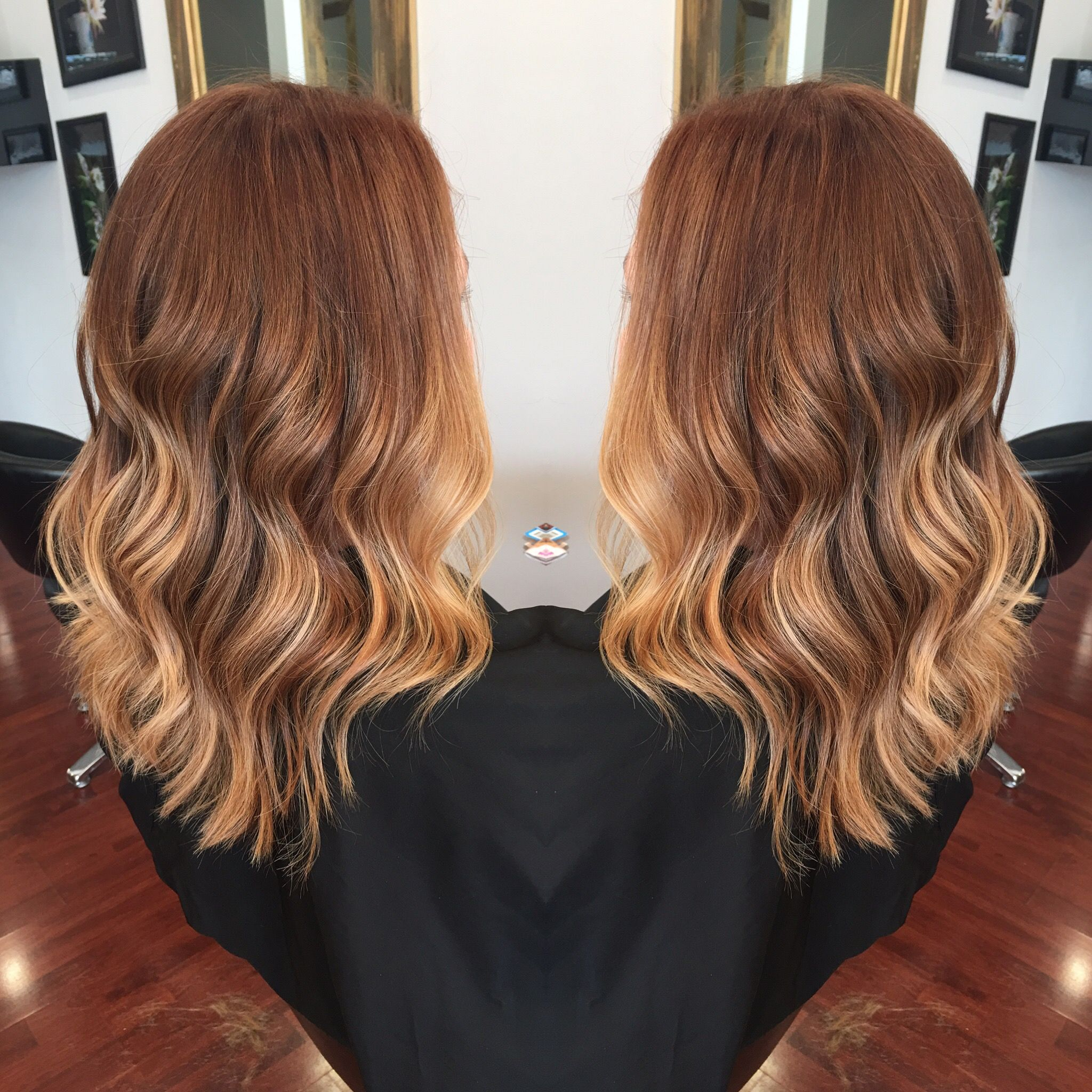 Pin On Ombre Sombre Balayage