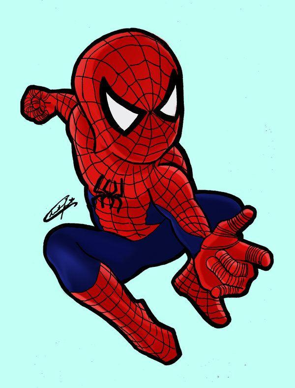 Chibi spiderman by stardustx15 on deviantart - Dessin anime spider man ...