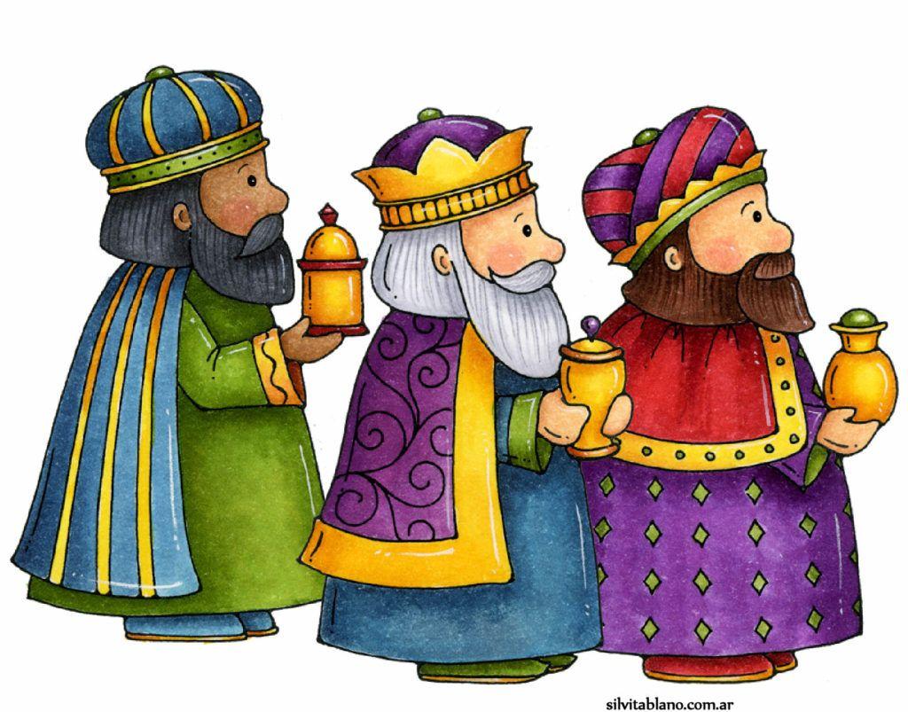 Los Tres Reyes Magos Reyes Magos Dibujos Imagenes De Pesebres Navidenos Tres Reyes Magos