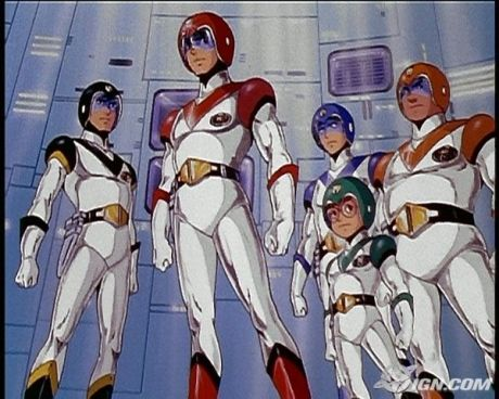 Voltron The Five Lion Team Great Cartoon From The 80s