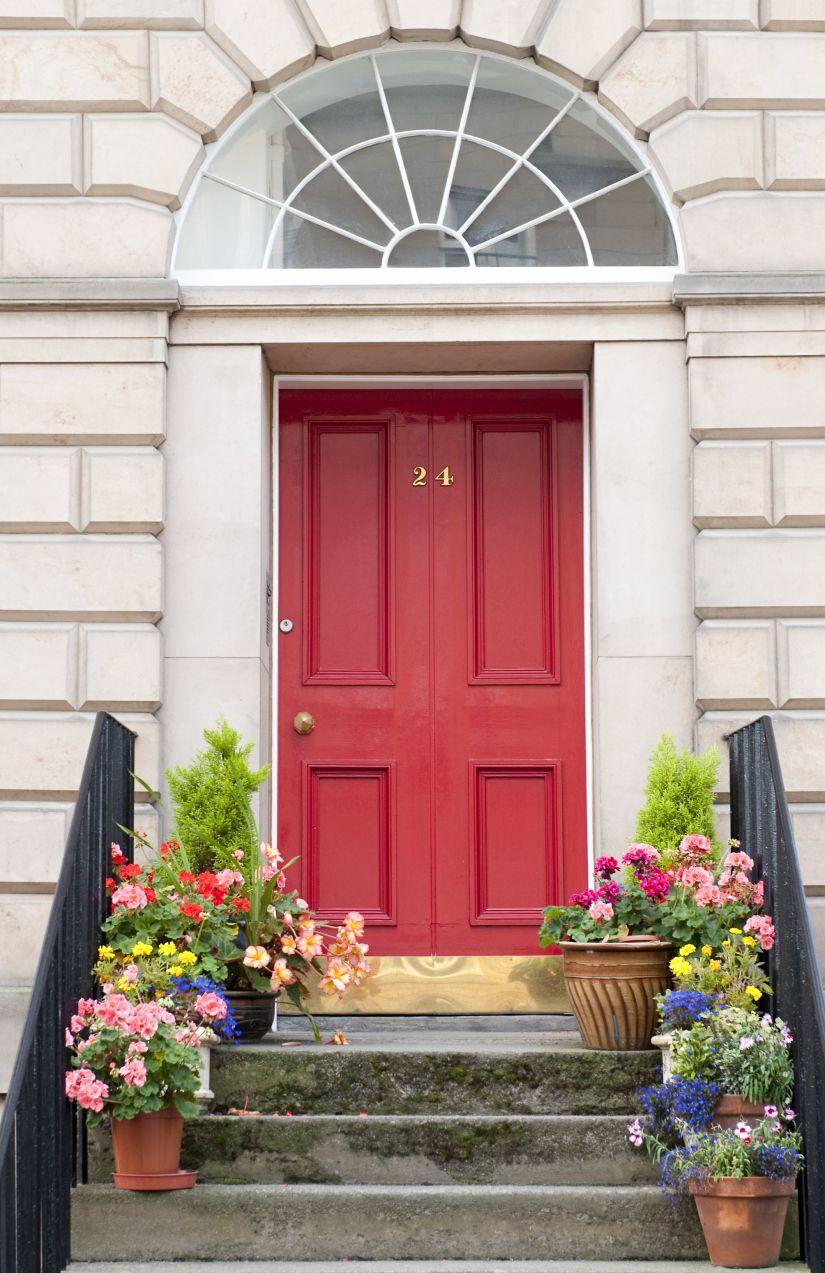 10 Reasons To Paint Your Front Door | Front doors and Doors