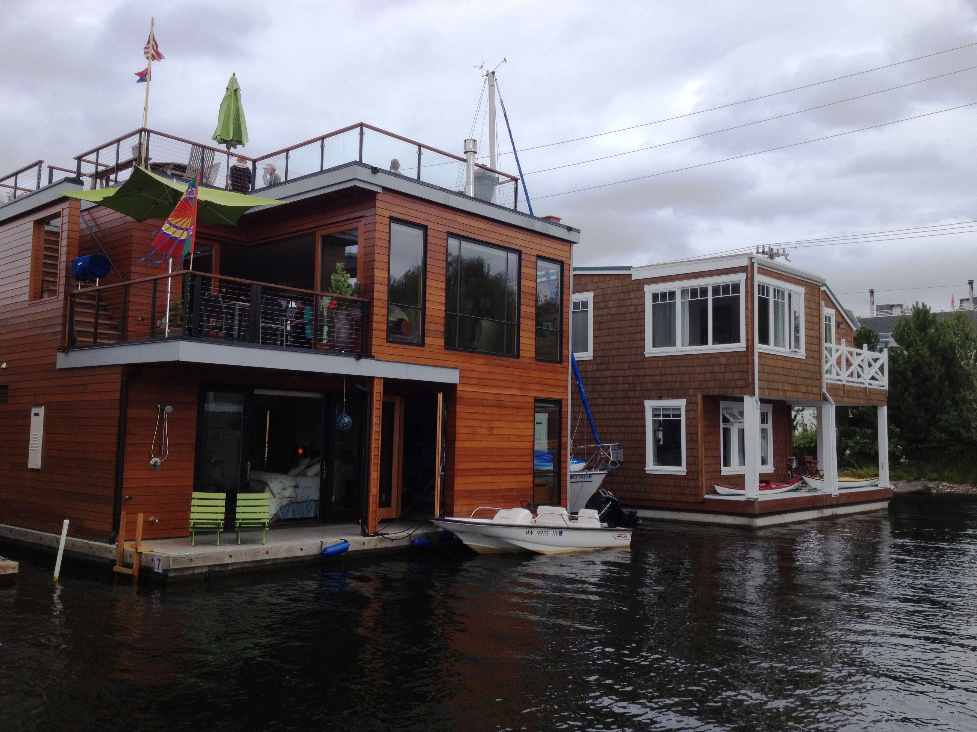 Lake Union Houseboats Seattle Via Our Ambassador Kim