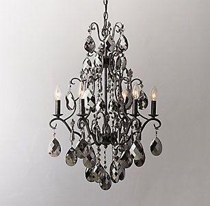 Chandeliers pendants rh teen the crows nest pinterest rh chandeliers pendants rh teen aloadofball Images