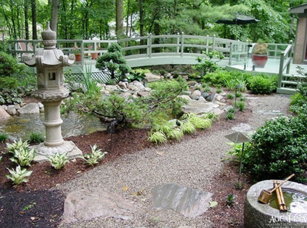 green garden decor ideas  Japanese garden design, Outdoor