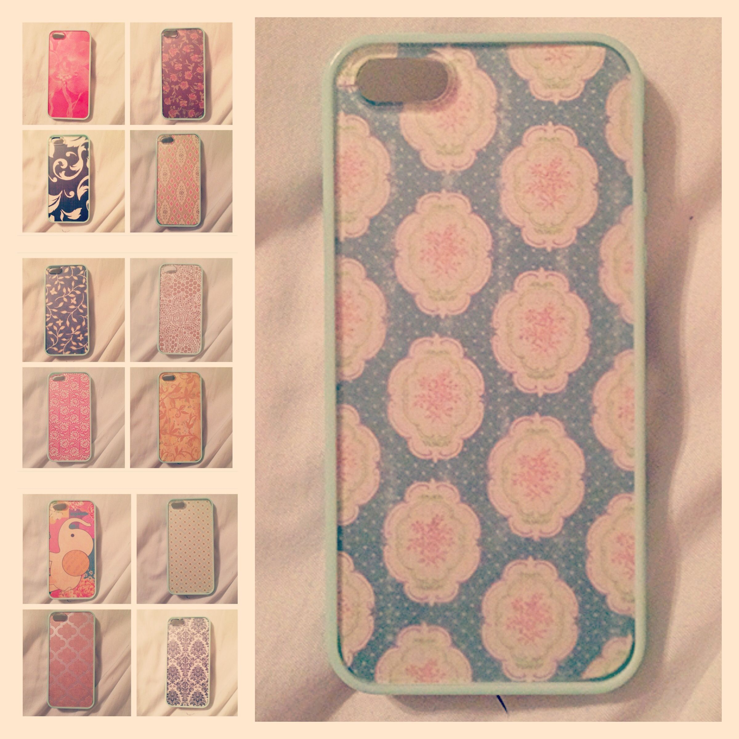 Scrapbook paper case - Diy Get A Cell Phone Case With A Clear Back And Cut Scrapbook Paper To