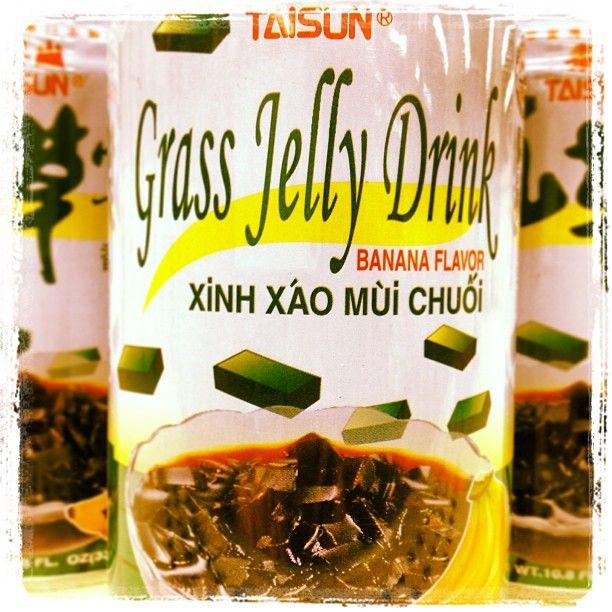 Banana Grass Jelly Drink Photo by wtongen