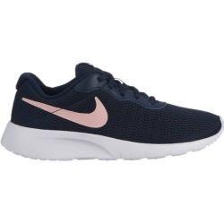 Photo of Nike Mädchen Sneaker Tanjun (gs), Größe 35 ½ In Obsidian/bleached Coral-White, Größe 35 ½ In Obsidia