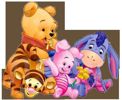 Imagenes De Pooh Baby Y Sus Amigos With Images Cute Winnie The
