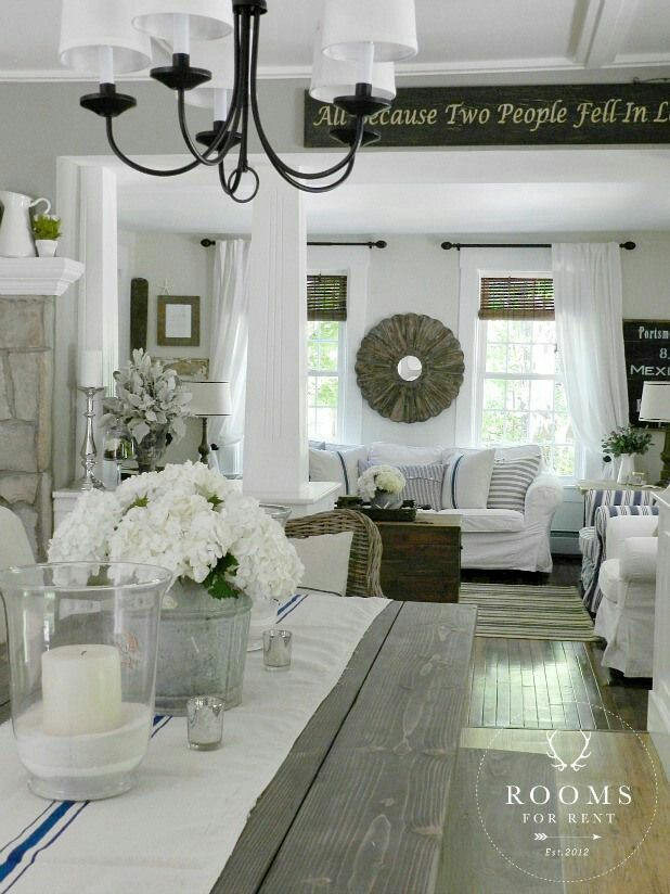 Rooms For Rent Farmhouse Style Decor | Farmhouse Table | Rooms FOR Rent  Blog Http: