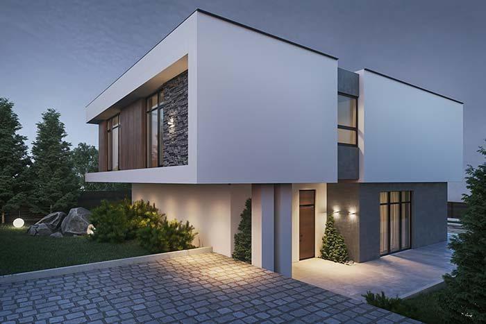 Moderne Häuser: Entdecken Sie 100 Modelle von innen und außen #hausdesign