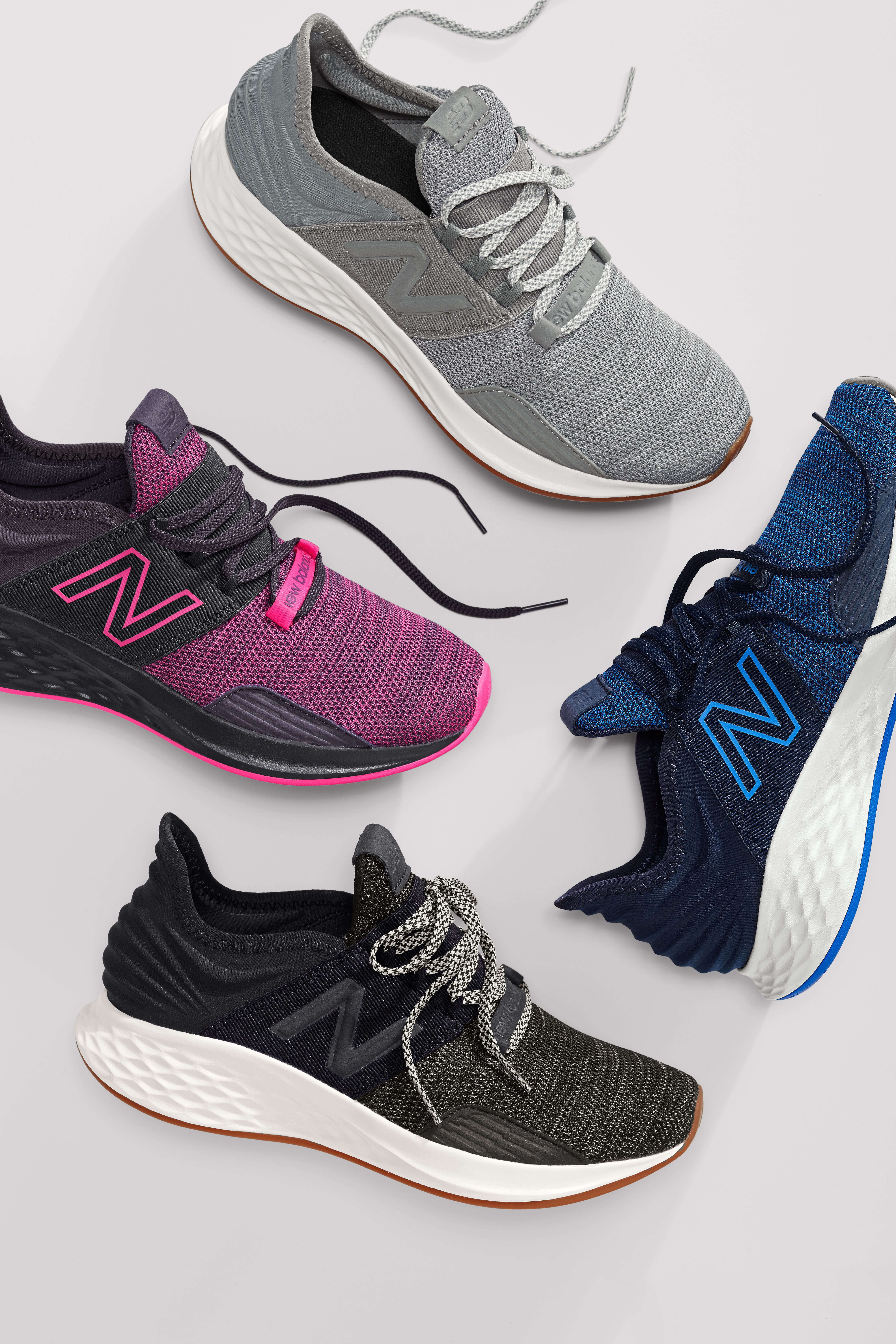 Enjoy all day comfort in premium style with the Fresh Foam