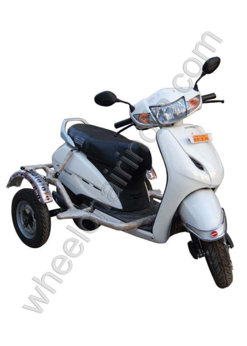 Side Wheel Attachment For Honda Activa Or Side Wheels For