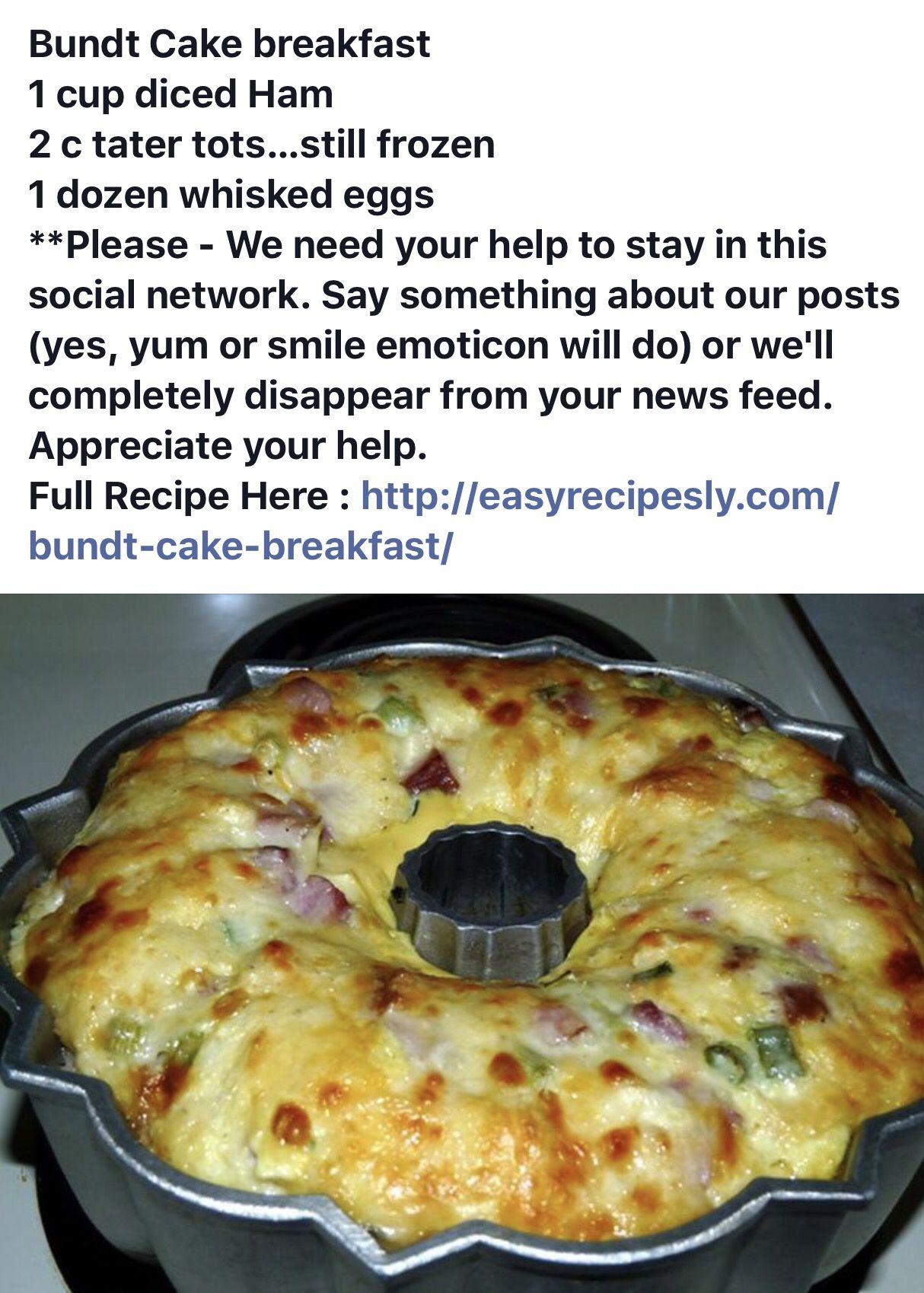 Http Easyrecipesly Com Bundt Cake Breakfast Breakfast Ingredients Cooking Recipes Easy Meals