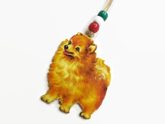Exclusive Pomeranian Christmas Tree Ornament by MyPalPeppy on Etsy
