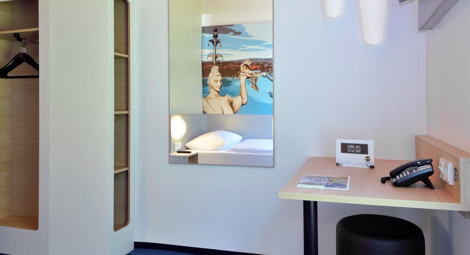 Barrierefreies Zimmer im B&B Hotel Konstanz