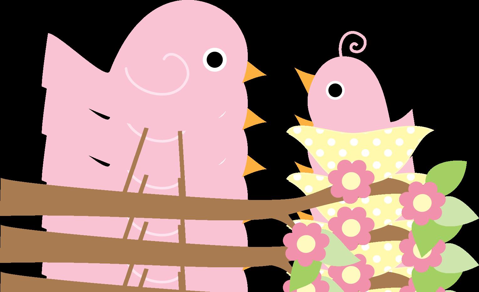 Pinkbirdsonbranch Png Pajaritos Pajaros Mantas De Puntos