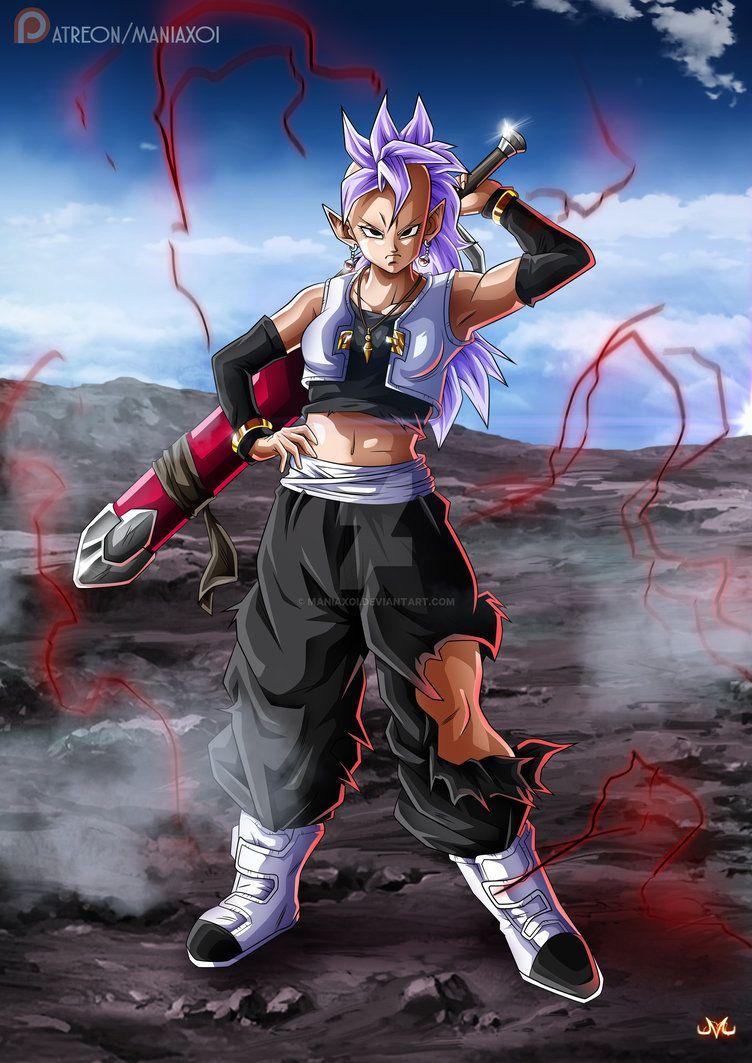 OC : Emmi as West Kaioshin by Maniaxoi   Dbz   Dragon ball, Dragon