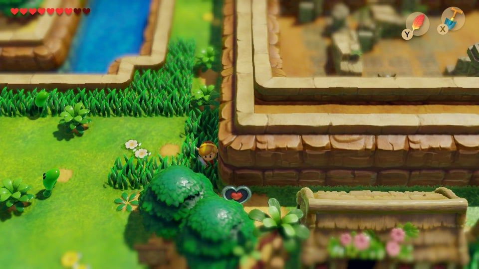 All Heart Piece Locations Link's Awakening for Switch