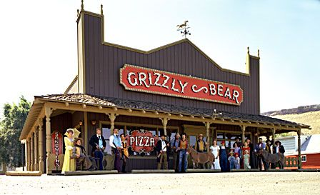 Grizzly Bear Pizza Parlor Publicity Photo By Gildemeister Grizzly Bear Hot Tub Time Machine Grizzly