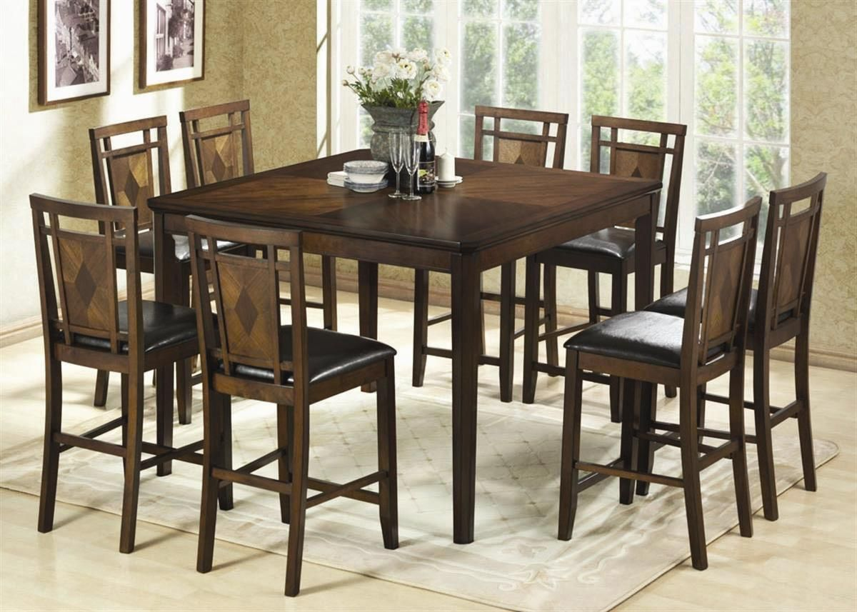 Modern Coastal Round Counter Height Dining Set  Google Search Best Tall Dining Room Sets Inspiration Design