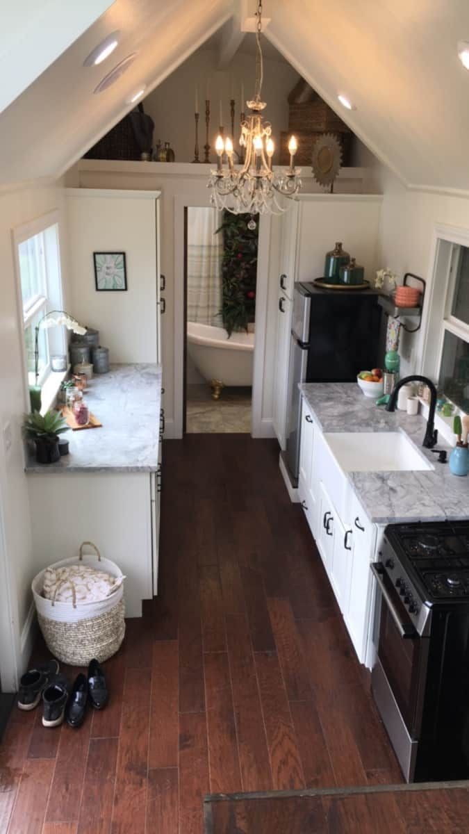 Large Luxury tiny house! - Tiny House for Sale in Portland, Oregon - Tiny House Listings #tinyhousebathroom
