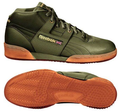 8877cc38033 Reebok Workout Mid Ice Sneaker Green