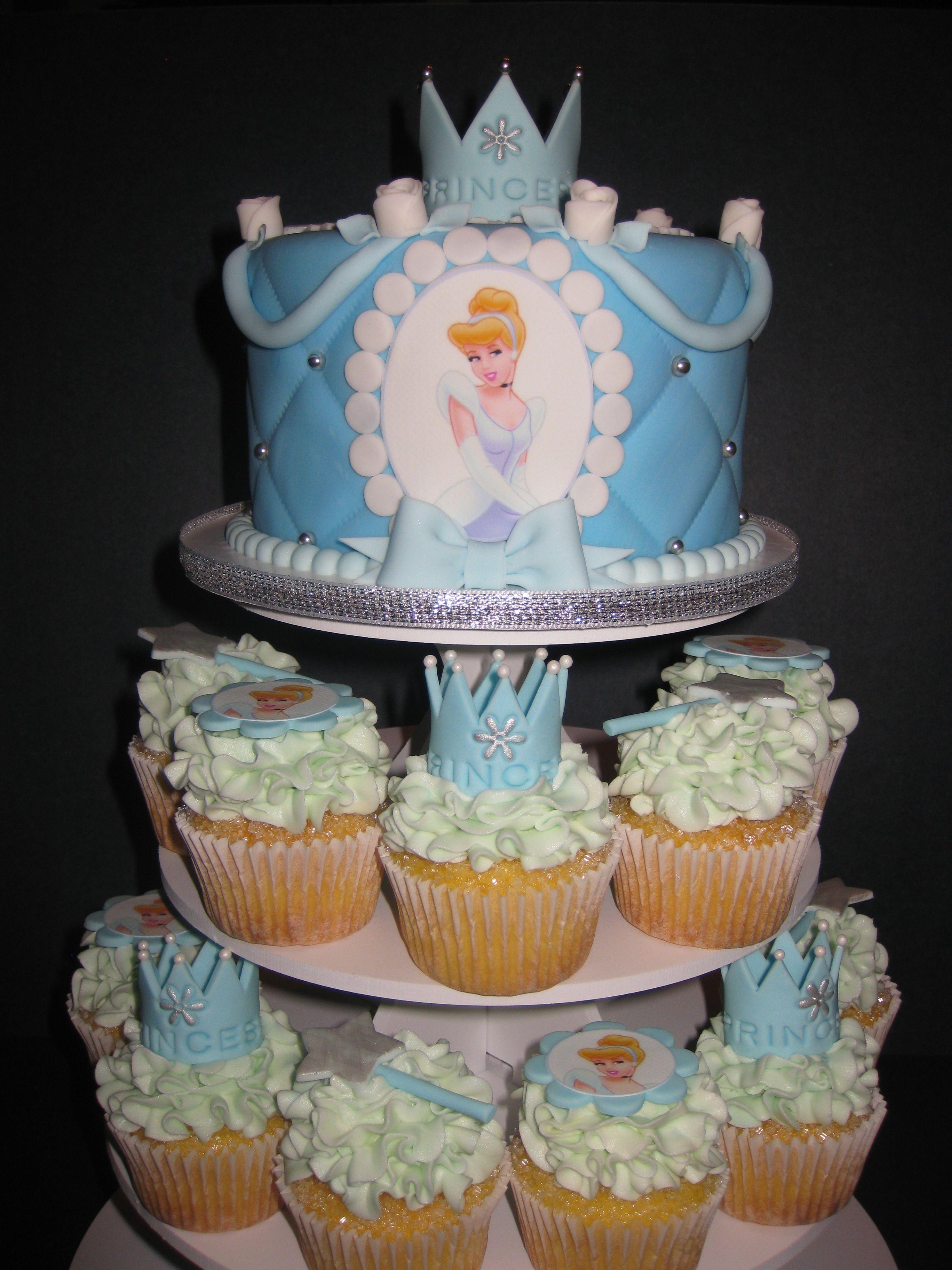 Phenomenal Cinderella Cake Cupcakes Cinderella Cake Cake Cake Boss Personalised Birthday Cards Veneteletsinfo