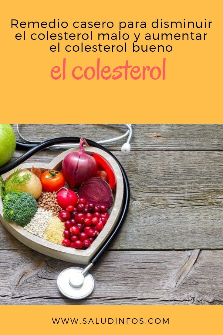 como aumentar el colesterol bueno y disminuir el malo