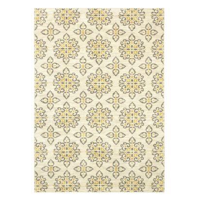 shaw living global tiles area rug gray yellow target