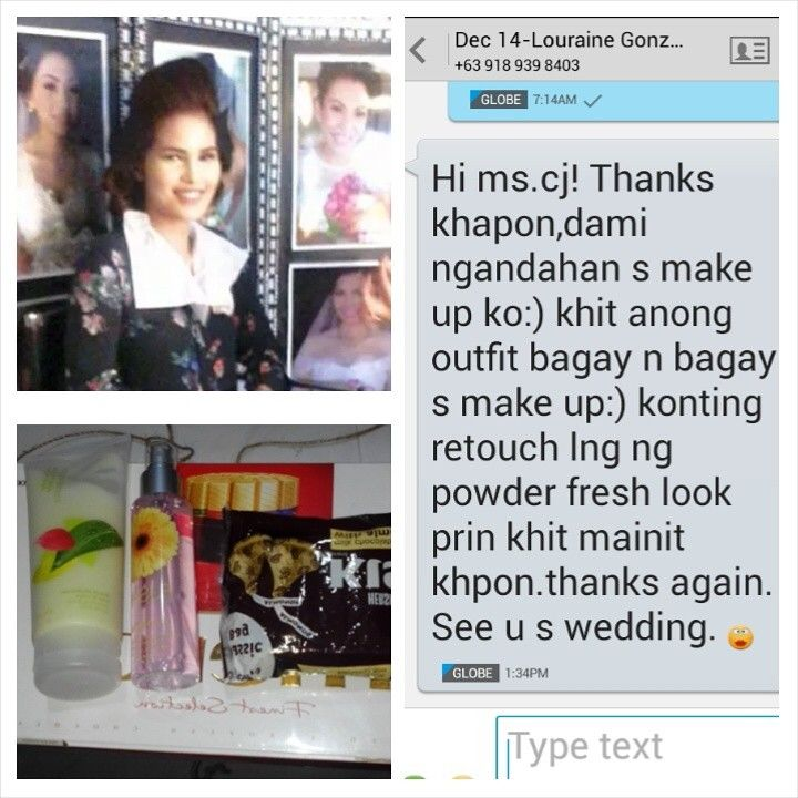 39154782 Our Iza Calzado/Rhian Ramos look alike bride's feedback for yesterday's  hair and make up